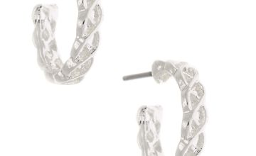 Go to Product: Silver 15MM Weave Hoop Earrings