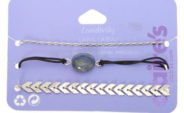 Go to Product: Lapis Lazuli Creativity Chain Bracelets - 3 Pack