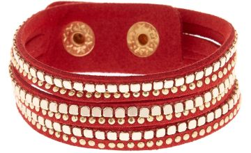 Go to Product: Western Wrap Bracelet - Red