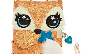 Go to Product: Farrah the Fox Sequin Lock Diary - Rose Gold