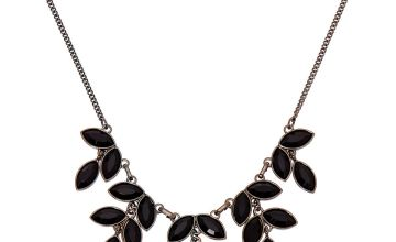 Go to Product: Hematite Leaf Statement Necklace