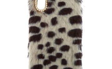 Go to Product: Spotted Faux Fur Phone Case - Fits iPhone X/XS