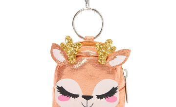 Go to Product: Ginger the Deer Mini Backpack Keychain - Pink