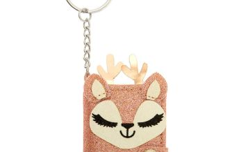 Go to Product: Ginger the Deer Mini Diary Keychain - Pink