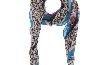 Go to Product: Square Floral Paisley Scarf