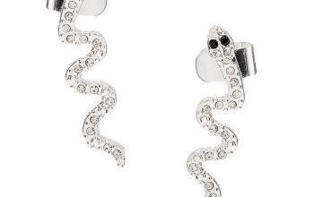 Go to Product: Silver Snake Connector Earring