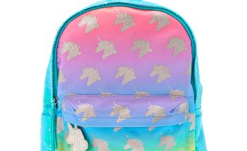 Go to Product: Pastel Rainbow Sequin Unicorn Backpack