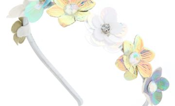 Go to Product: Iridescent Faux Flower Headband