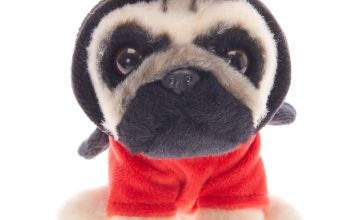 Go to Product: Doug the Pug ™ Small Ladybug Soft Toy - Cream