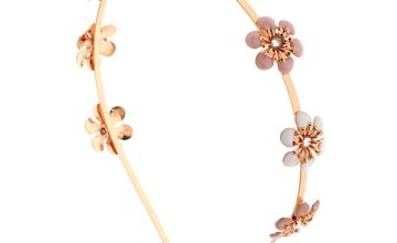 Go to Product: Rose Gold Blush Flowers Headband