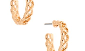 Go to Product: Gold 15MM Weave Hoop Earrings
