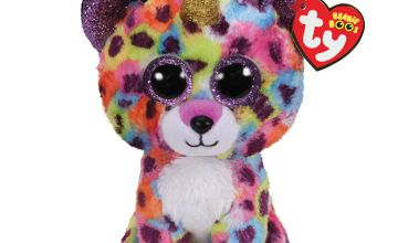 Go to Product: Ty Beanie Boo Medium Giselle the Unicorn Leopard Soft Toy