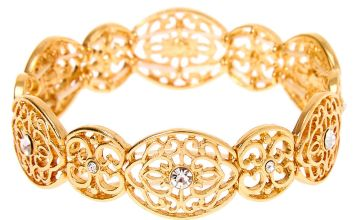 Go to Product: Gold Filigree Stretch Bracelet