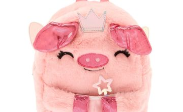 Go to Product: Claire's Club Flying Pig Backpack - Pink