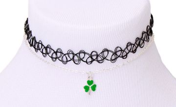 Go to Product: Silver Shamrock Choker Necklaces - 2 Pack