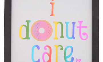 Go to Product: I Donut Care Wall Art