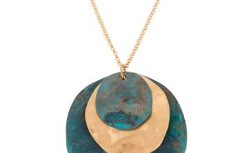 Go to Product: Patina Disk Long Pendant Necklace