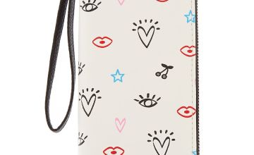 Go to Product: Doodle Icon Wristlet - White