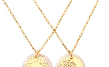 Go to Product: Gold Filigree Shine Pendant Necklaces - 2 Pack