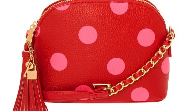 Go to Product: Polka Dot Crossbody Bag - Red
