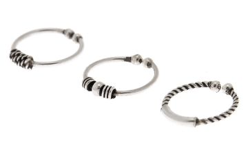 Go to Product: Sterling Silver Bead Faux Nose Ring - 3 Pack