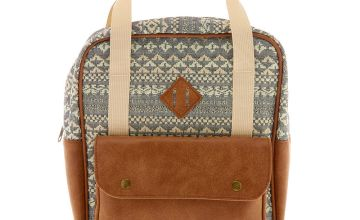 Go to Product: Boho Tapestry Midi Square Backpack