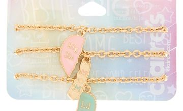 Go to Product: Pastel Heart Chain Generation Bracelets - 3 Pack