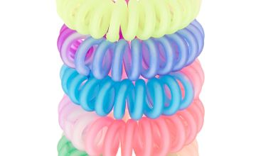 Go to Product: Rainbow Matte Ombre Mini Spiral Hair Bobbles - 5 Pack