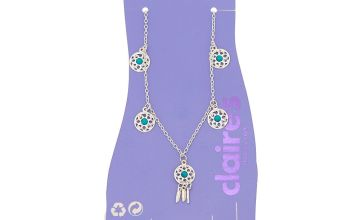 Go to Product: Dreamcatcher Charm Anklet - Turquoise