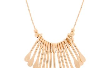 Go to Product: Rose Gold Mini Bar Statement Necklace