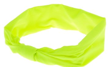 Go to Product: Ribbed Knotted Headwrap - Neon Lime