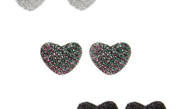 Go to Product: Button Heart Stud Earrings - 3 Pack
