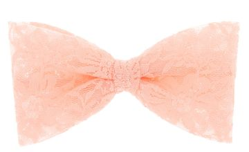 Go to Product: Lace Hair Bow Clip - Pink