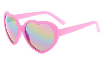 Go to Product: Claire's Club Heart Shaped Sunglasses - Pink