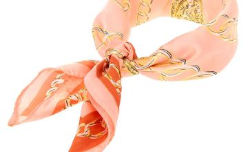 Go to Product: Silky Chain Bandana Headwrap - Pink