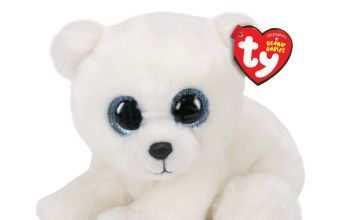 Go to Product: Ty Beanie Baby Small Ari the Polar Bear Soft Toy