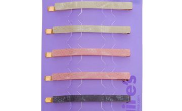 Go to Product: Pastel Snakeskin Hair Pins - 6 Pack