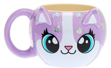Go to Product: Carly the Cat Mug - Purple