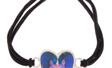 Go to Product: Lala the Llamacorn Holographic Stretch Bracelet