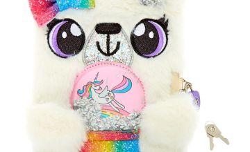 Go to Product: Holly the Polar Bear Snowglobe Soft Lock Diary - White