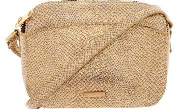 Go to Product: Snake Skin Crossbody Bag - Gold