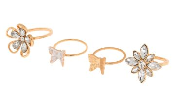 Go to Product: Gold Garden Party Rings - 4 Pack