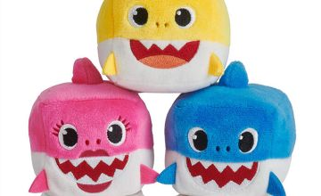 Go to Product: Pinkfong Baby Shark Plush Cube Toy - Styles May Vary