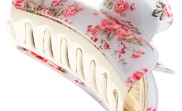 Go to Product: Romantic Floral Hair Claw - Grey