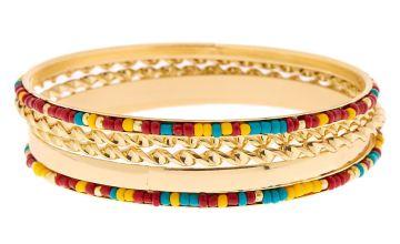Go to Product: Gold Desert Bangle Bracelets - 5 Pack
