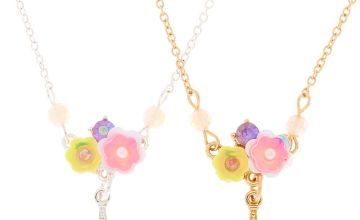 Go to Product: Best Friends Flower Paris Pendant Necklaces - 2 Pack