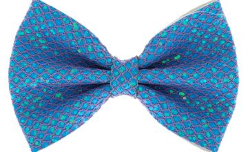 Go to Product: Mermaid Shine Hair Bow Clip - Baby Blue