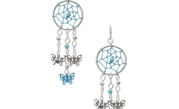 Go to Product: Turquoise Dreamcatcher Butterfly Earrings