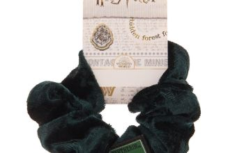 Go to Product: Harry Potter™ Slytherin Velvet Scrunchie - Green