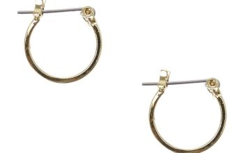 Go to Product: Gold 15MM Square Edge Hoop Earrings